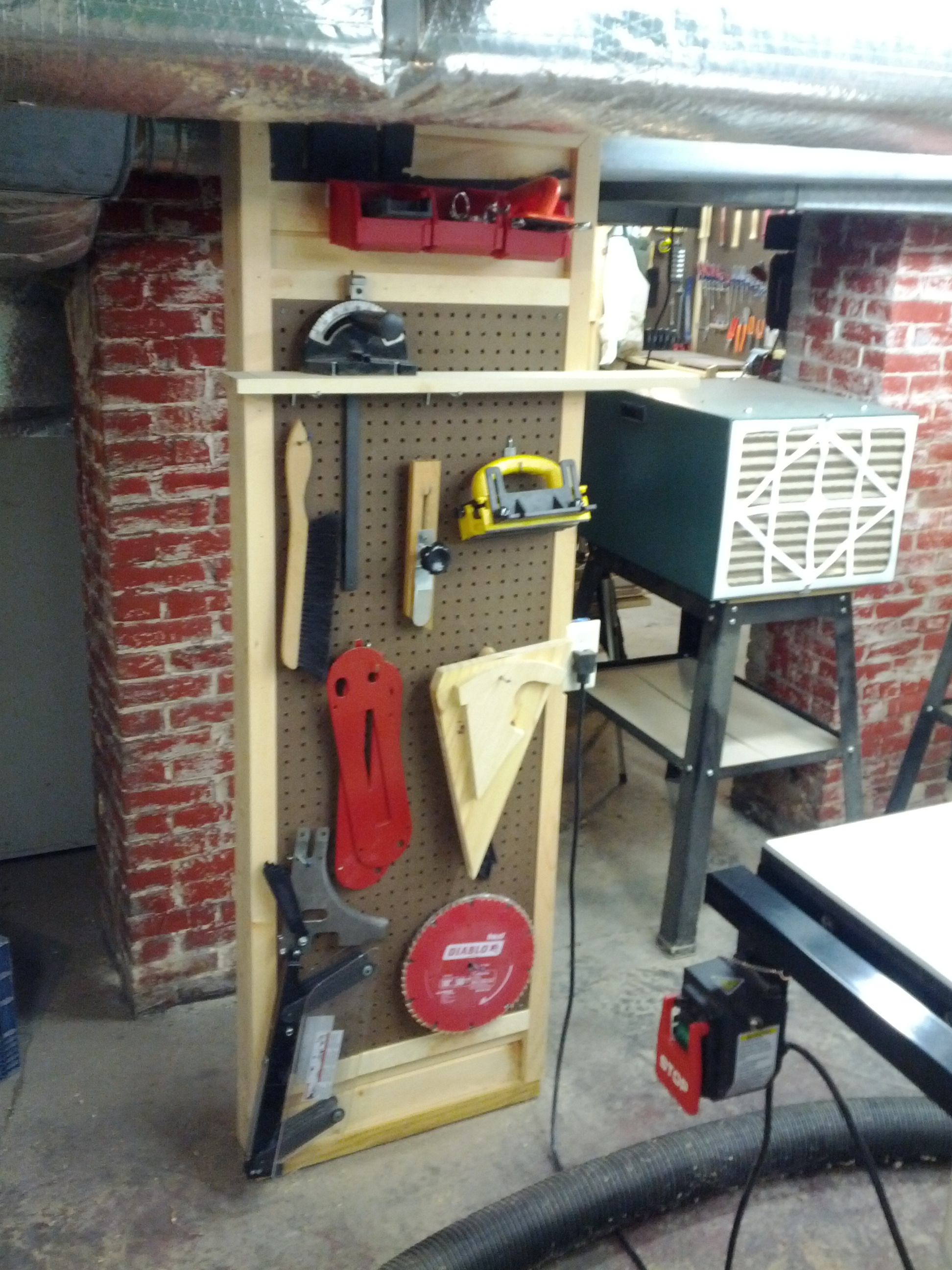 woodshop accessories tool storage