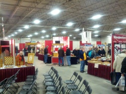 Another view of the show floor.