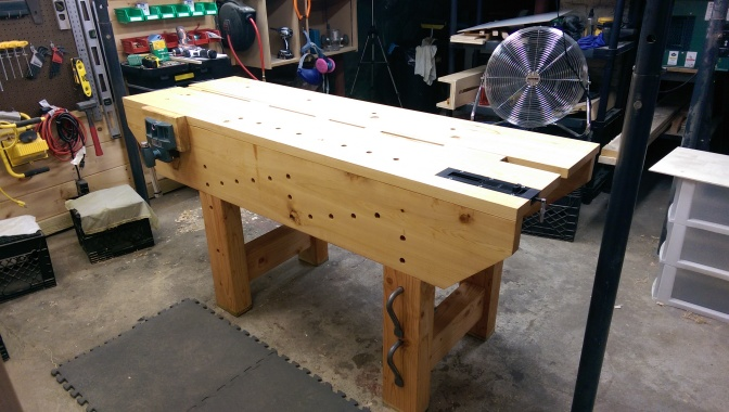5 – Time For A New Workbench | Nicholson Workbench Part 2